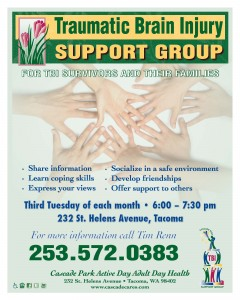 Cascade Park TBI Support Group Path